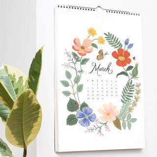 Rifle Paper wall calendar - Wild garden 2021