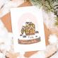 Christmas card - Snowball