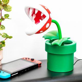 Super Mario Bros. lamp - Piranha plant