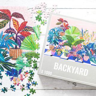 Cloudberries jigsaw puzzle - Backyard