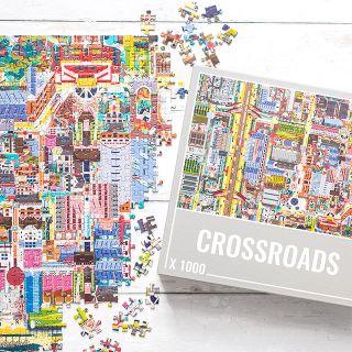 Cloudberries jigsaw puzzle - Crossroads