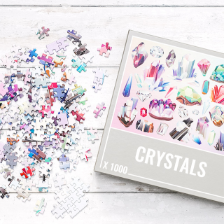 Cloudberries jigsaw puzzle - Crystals