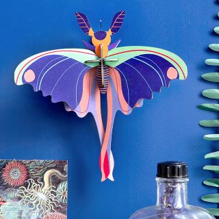 Studio ROOF deco - Small insect (pink comet butterfly)