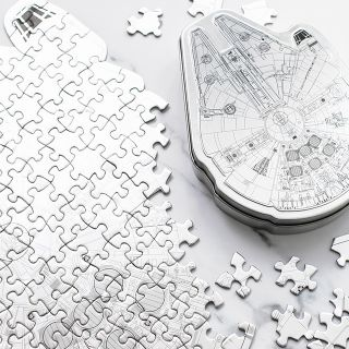 Star Wars jigsaw puzzle - Millenium Falcon