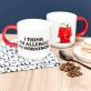 Mug Snoopy - Allergic to mornings
