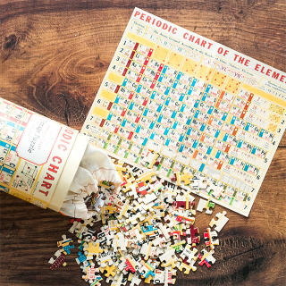 Cavallini & Co. jigsaw puzzle - Periodic table