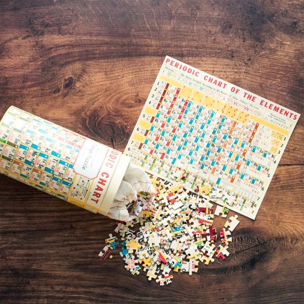 Cavallini & Co. jigsaw puzzle - Periodic table
