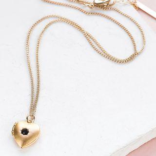 Necklace - Heart locket