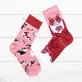 Many Mornings socks - Playful cats
