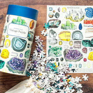 Cavallini & Co. jigsaw puzzle - Mineralogy