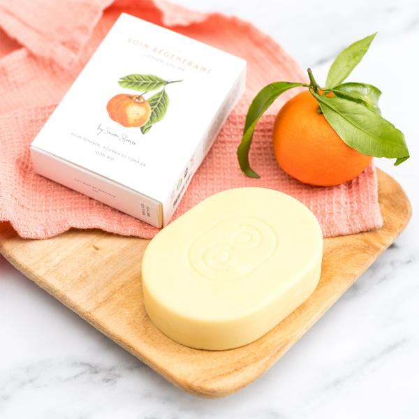 Savon Stories - Solid body lotion mandarin