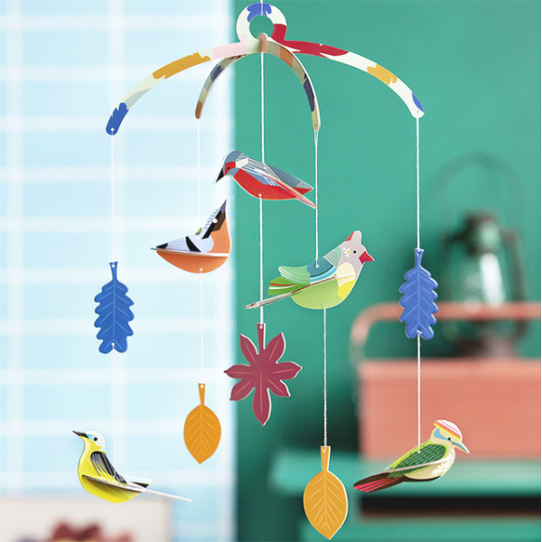 Studio ROOF mobile - Garden birds