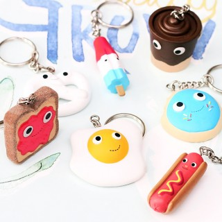 Yummy world keychain v.2