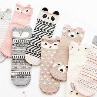 Socks - Pastel animals