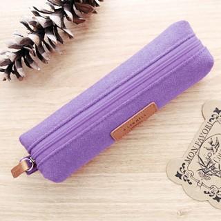 A low hill pencil case - violet