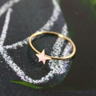 Powder pink star