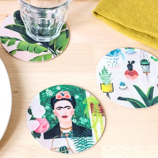 Sous-verres Frida / Jungle