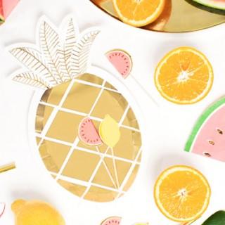 Pineapple plates
