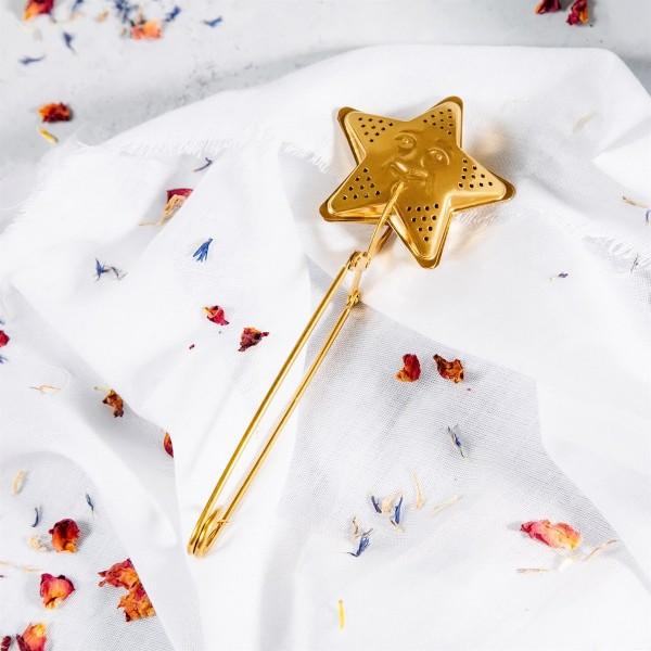 Tea infuser - Gold star