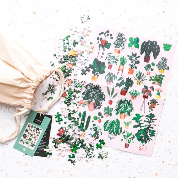 Typoriginal jigsaw puzzle - Plant gang