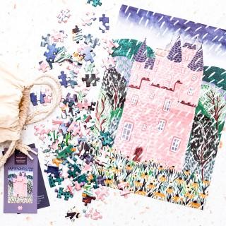 Typoriginal jigsaw puzzle - Pink castle