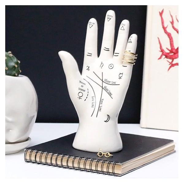 Porte-bijoux en forme de main Palmistry par Bitten