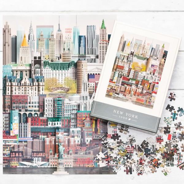 Martin Schwartz jigsaw puzzle - New York