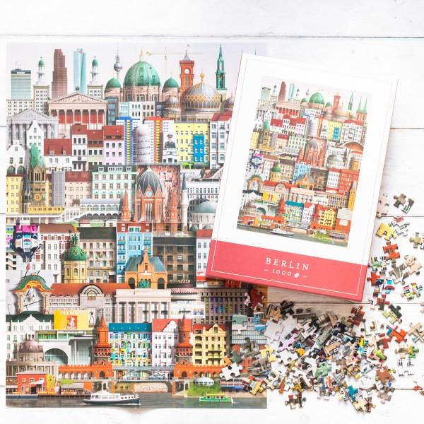 Martin Schwartz jigsaw puzzle - Berlin