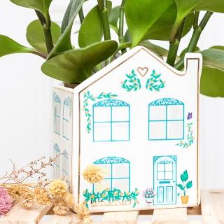 Planter - Pastel house