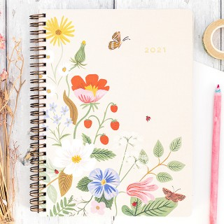 Rifle Paper appointment notebook - Luisa 2021