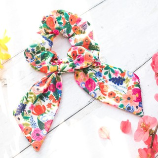 Rifle Paper scrunchie - Garden Party