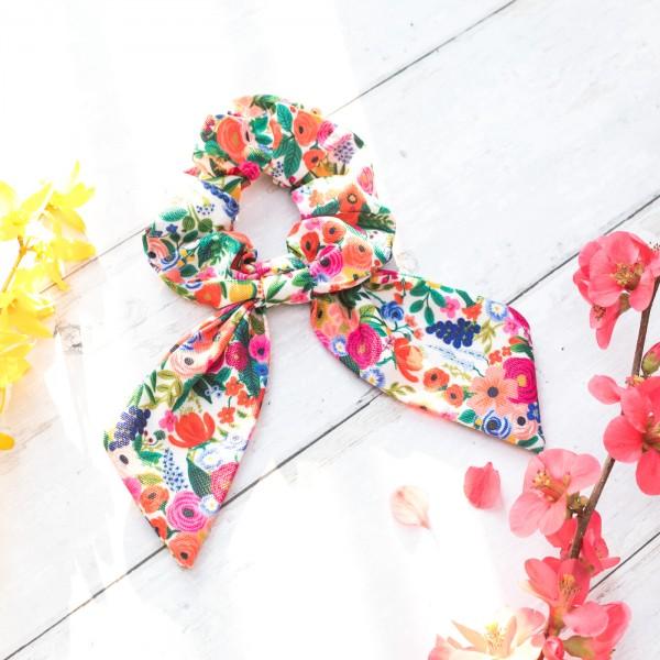 Rifle Paper scrunchie - Garden Party