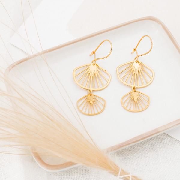 Earrings - Belize drop