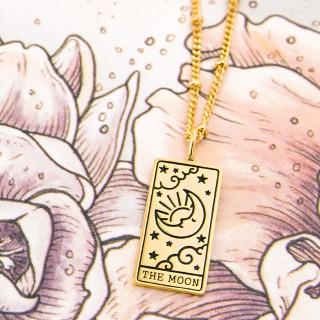 Tarot necklace - The moon