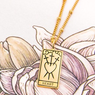 Tarot necklace - The heart