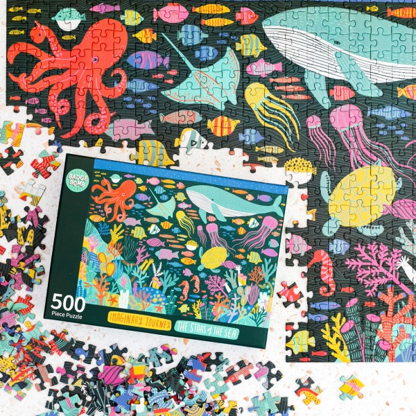 Jigsaw puzzle - The stars of the sea