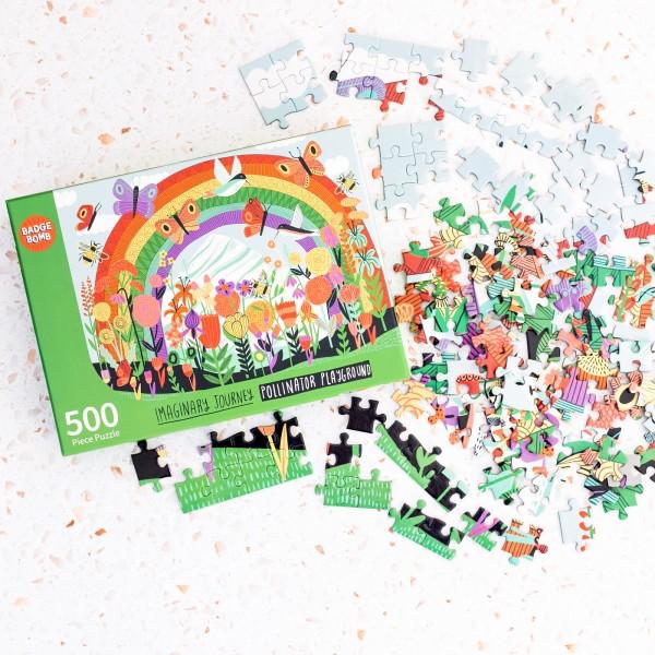 Jigsaw puzzle - Pollinator