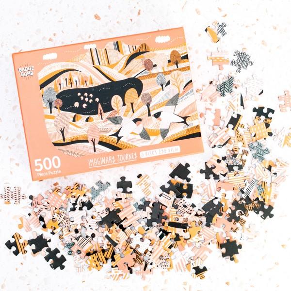Jigsaw puzzle - A bird's eye view