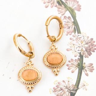 Mini hoop earrings - Madeleine