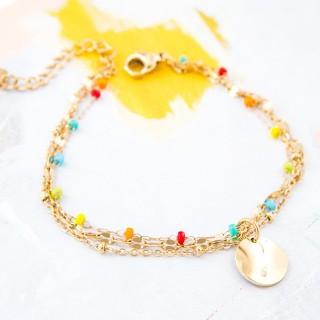 Double bracelet - Iris