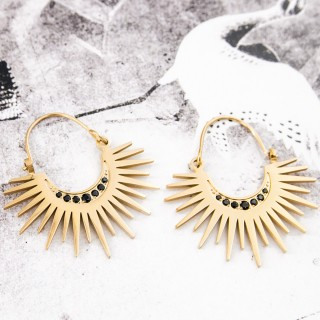 Hoop earrings -
