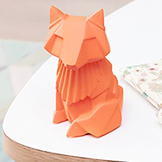 Night light - Origami fox