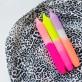 Dip Dye Neon candles - Summer breeze