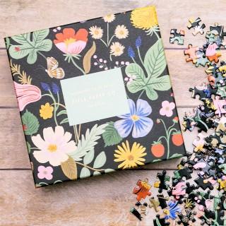 Rifle Paper jigsaw puzzle - Strawberry fields