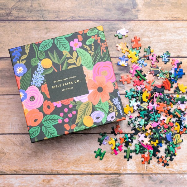 Rifle Paper jigsaw puzzle - Garden party