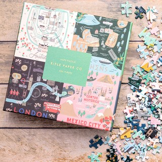Rifle Paper jigsaw puzzle - Maps
