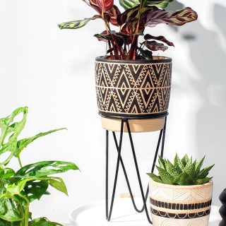Planter with wire stand - Nomad
