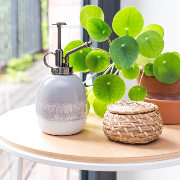 Ceramic plant mister - Mojave (grey)