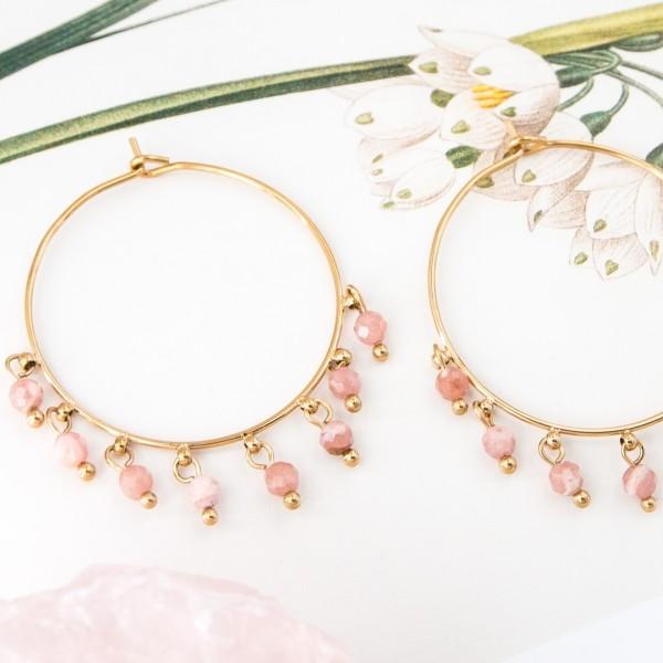 Hoop earrings - Oliana