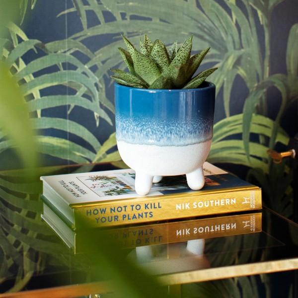 Large planter - Mojave (blue)